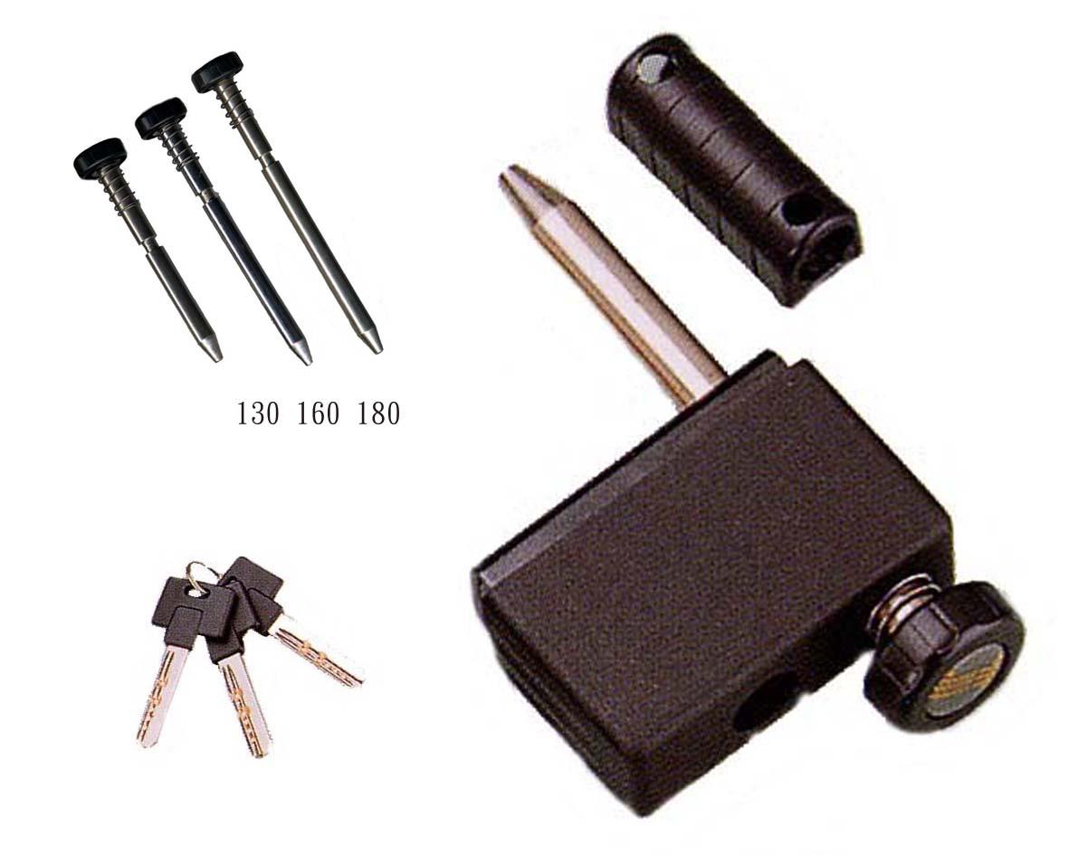 TPY-105 隱藏式排檔鎖-黑